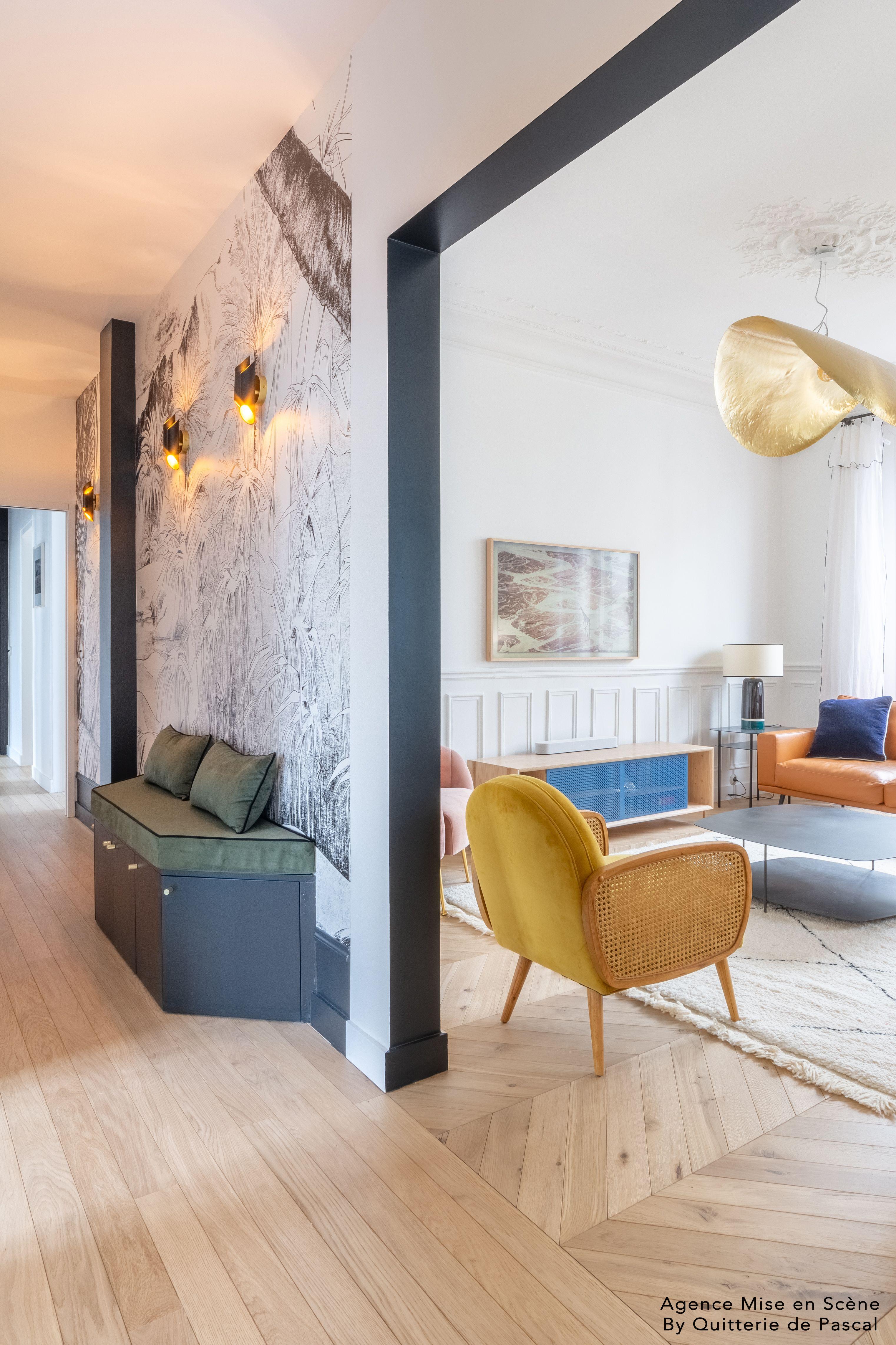 Couloir Amenage Decoration Interieur Appartement Decoration Appartement Decoration Appartement Haussmannien