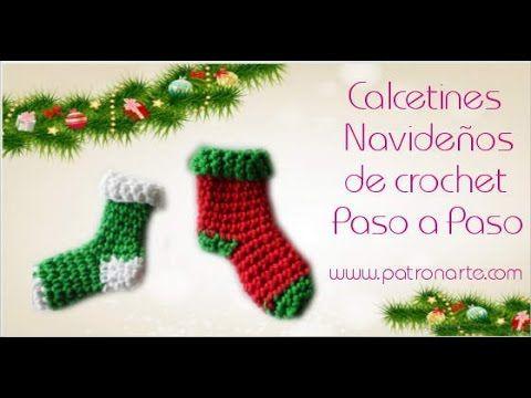 Corona para Navidad de Crochet | DIY - PatronesMil | Proyectos que ...