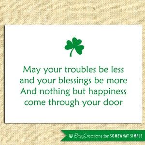 St. Patrick's Day Quote Free Printable