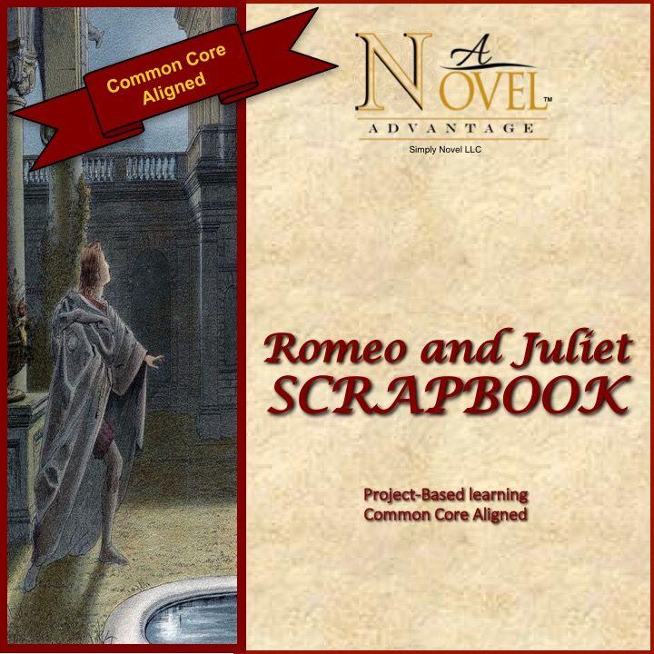 romeo and juliet scrapbook project based learning a novel advantage project based. Black Bedroom Furniture Sets. Home Design Ideas