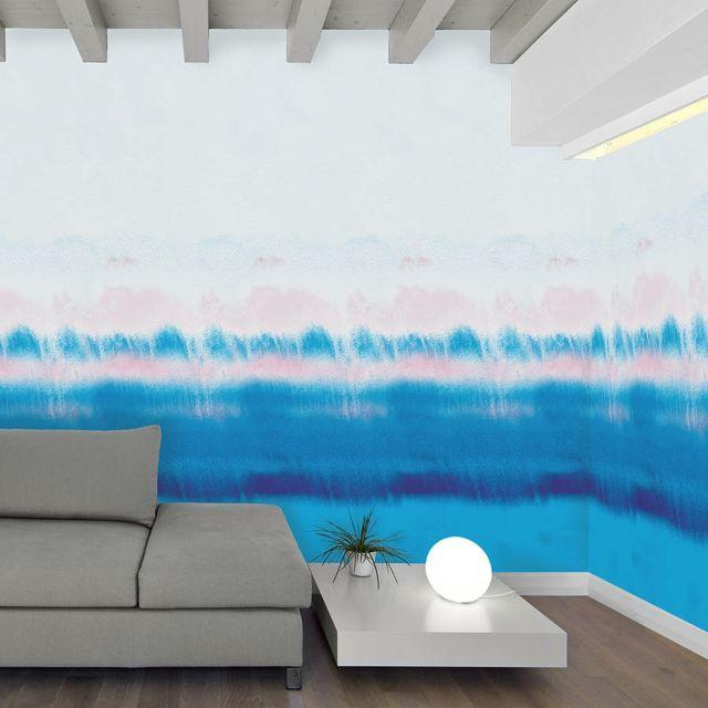 Taupe Farbe Dekorative Ideen Für Ihr Zuhause: Wohnzimmer Wandgestaltung Mit Farbe-Ombre Wand Streichen