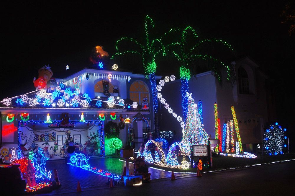 Christmas decorated houses in miami fl House design ideas Pinterest