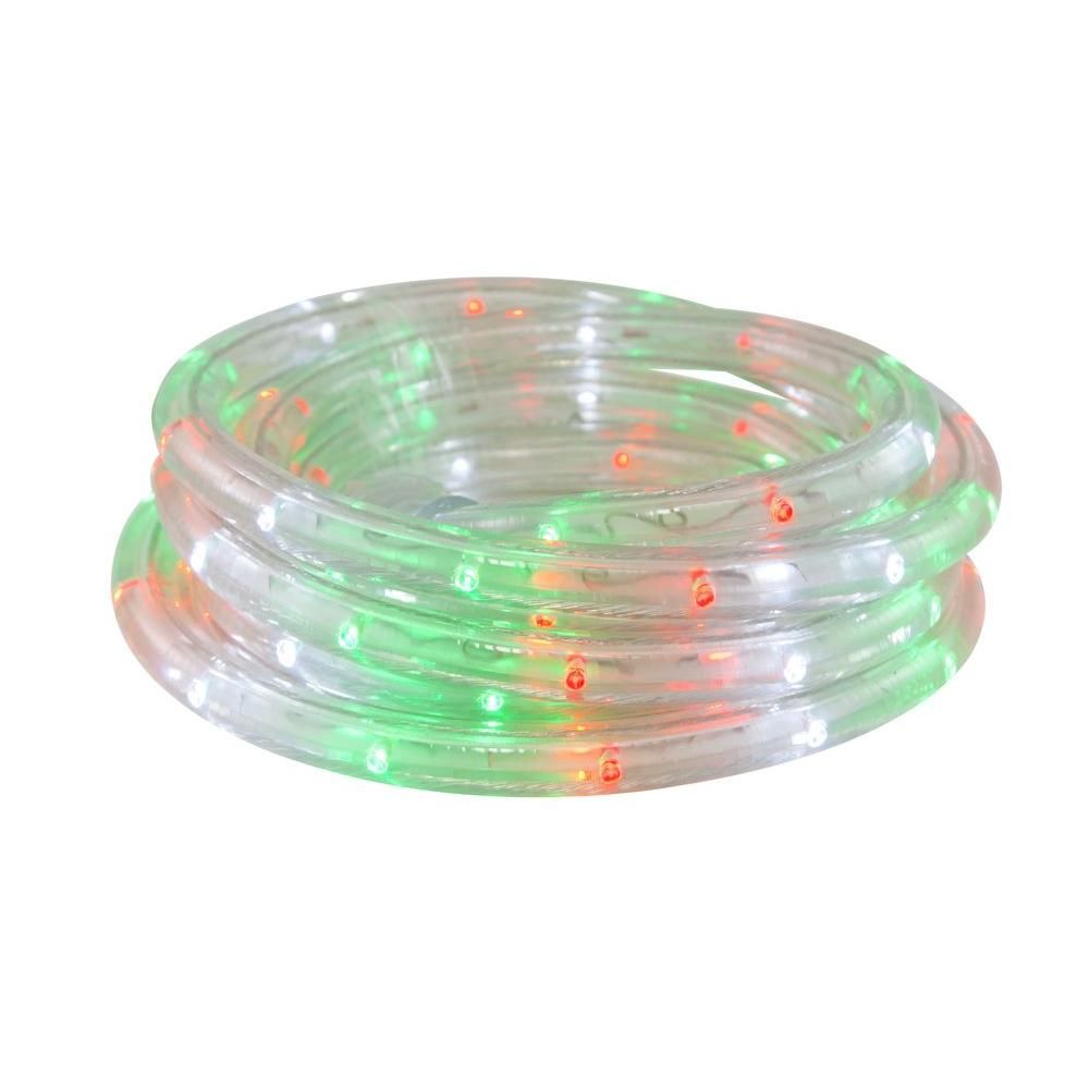 Home accents holiday 12 ft red green white led rope light kit home accents holiday 12 ft red green white led rope light kit aloadofball Gallery