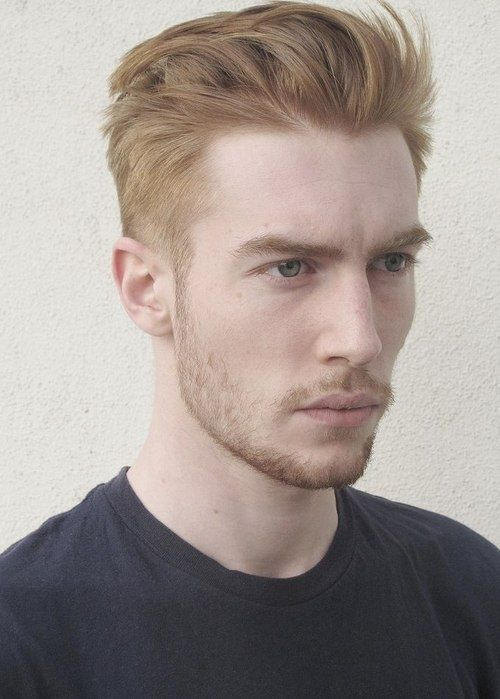 Men Hairstyles He Looks Like A Blonde Ginger Mens Hairstyles