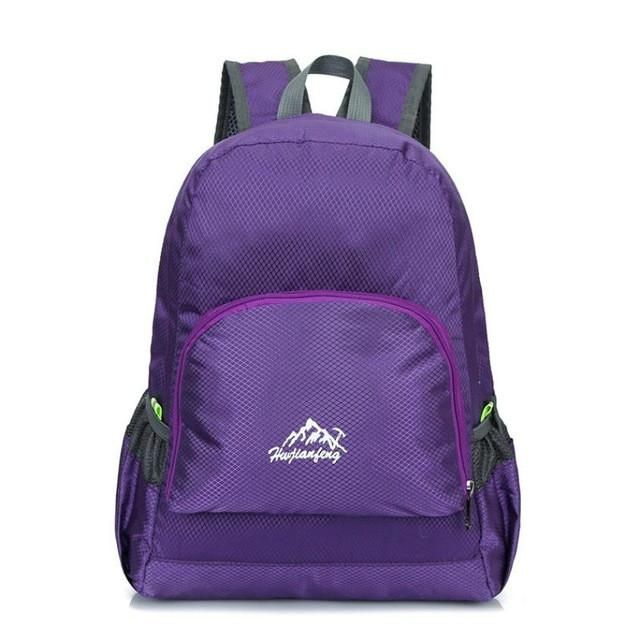 Folding Nylon Boys Girls Leisure Outdoor Travel Package Mountaineer School Bag