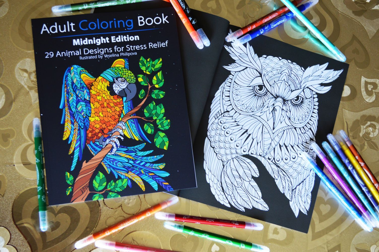 That Coloring Book Will Make You Relax With Its Awesome Animal Designs