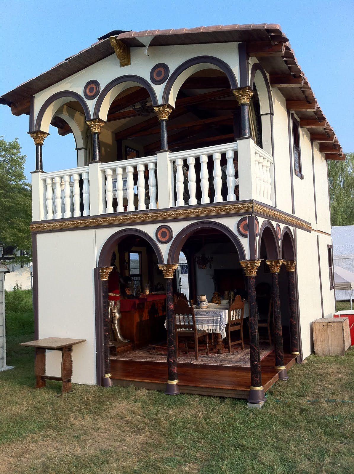 Chris Gilman\'s Pennsic house. | Encampment Ideas | Pinterest ...