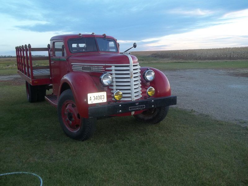 1947 Diamond T 404HH for sale by Owner - Lisbon, ND | OldCarOnline ...