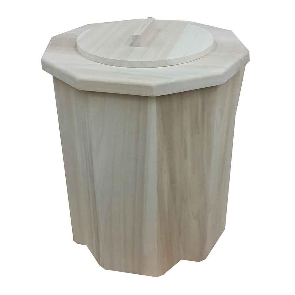 Toilette s che de voyage pr t l 39 usage en bois - Pot de chambre camping ...