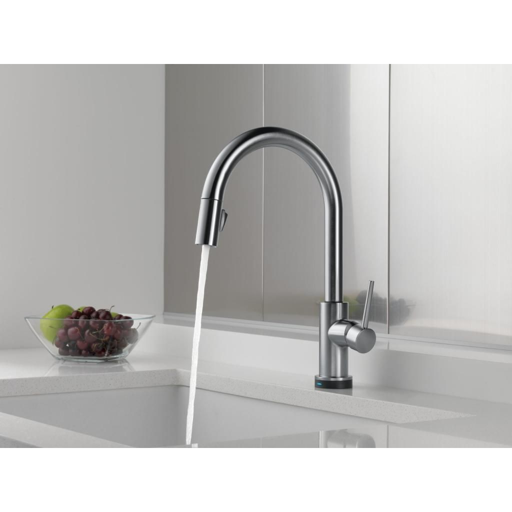 The Kitchen Sink You Tap To Turn On Later For You Germs Modern Kitchen Faucet Touch Kitchen Faucet Kitchen Faucet Design