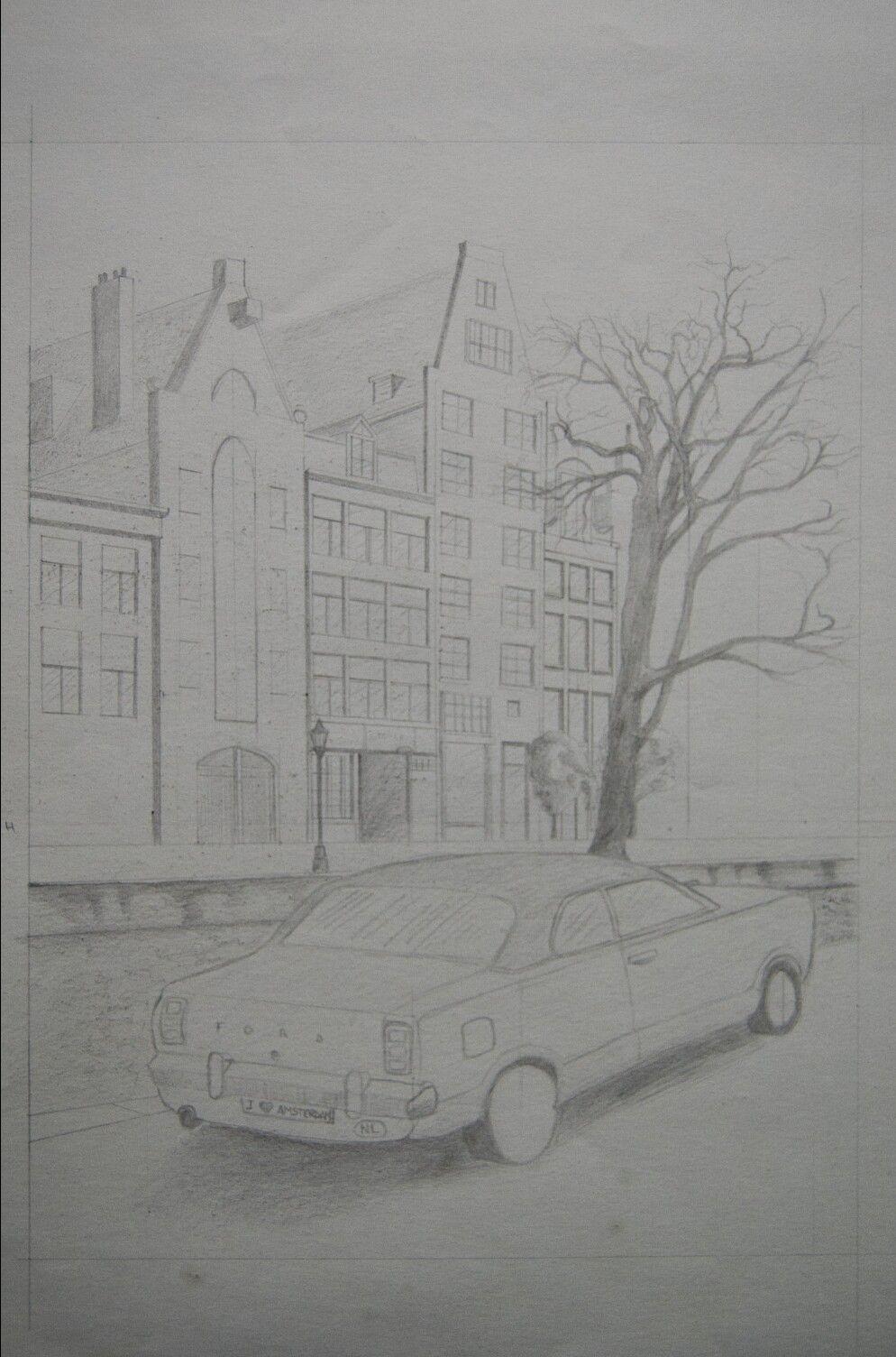 Draw, Amsterdam street