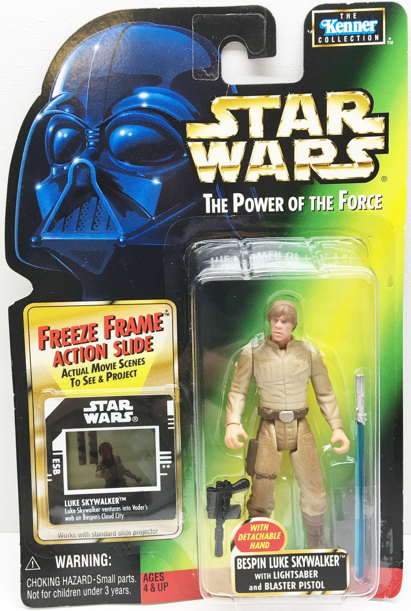 Star Wars Power of the Force LUKE SKYWALKER 2-Figure Freeze Frame Lot