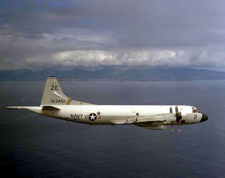 File P 3b Orion Vp 17 Off Oahu 1976 Jpeg Reconnaissance Aircraft Fly Navy Navy Aircraft