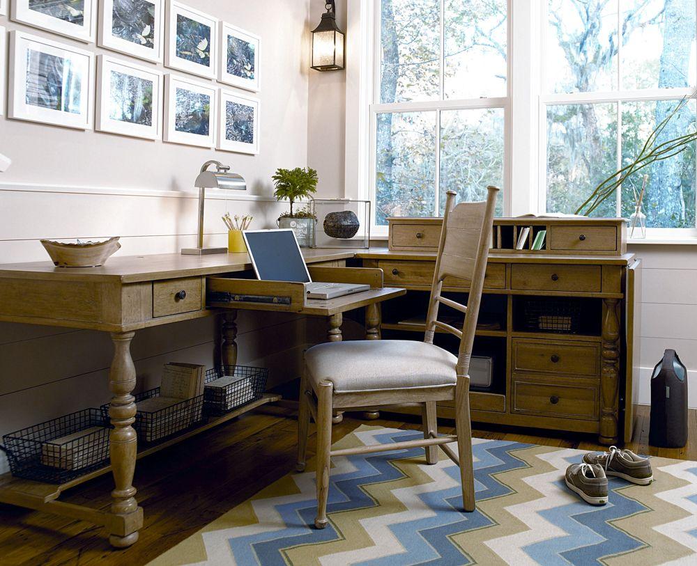 Universal Furniture Paula Deen Down Home Working Desk In Oatmeal