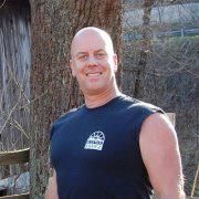 A professional Roanoke City Firefighter since 1999, Mike Peay works as a part-time welder and salvager for Black Dog Salvage during his down time.