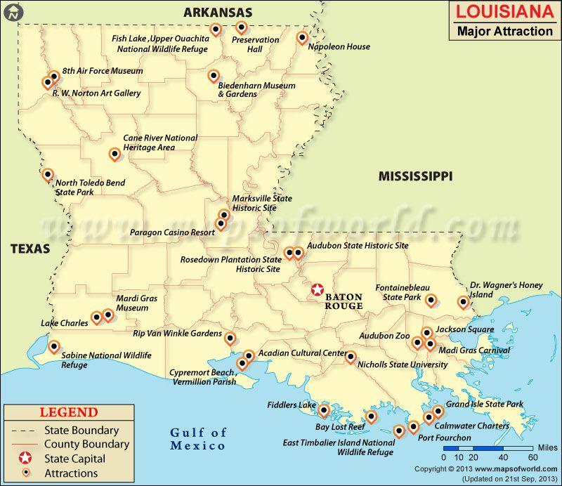 cane river louisiana map Louisiana Attractions Louisiana Travel Historical Sites State cane river louisiana map