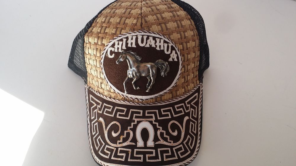 Mexican Charro Saddle Caps Western Gorras Diferentes Diseños Chihuahua