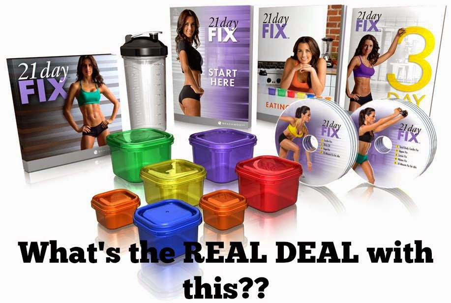 It's About Progress Not Perfection: What's the REAL DEAL with this 21 Day Fix?