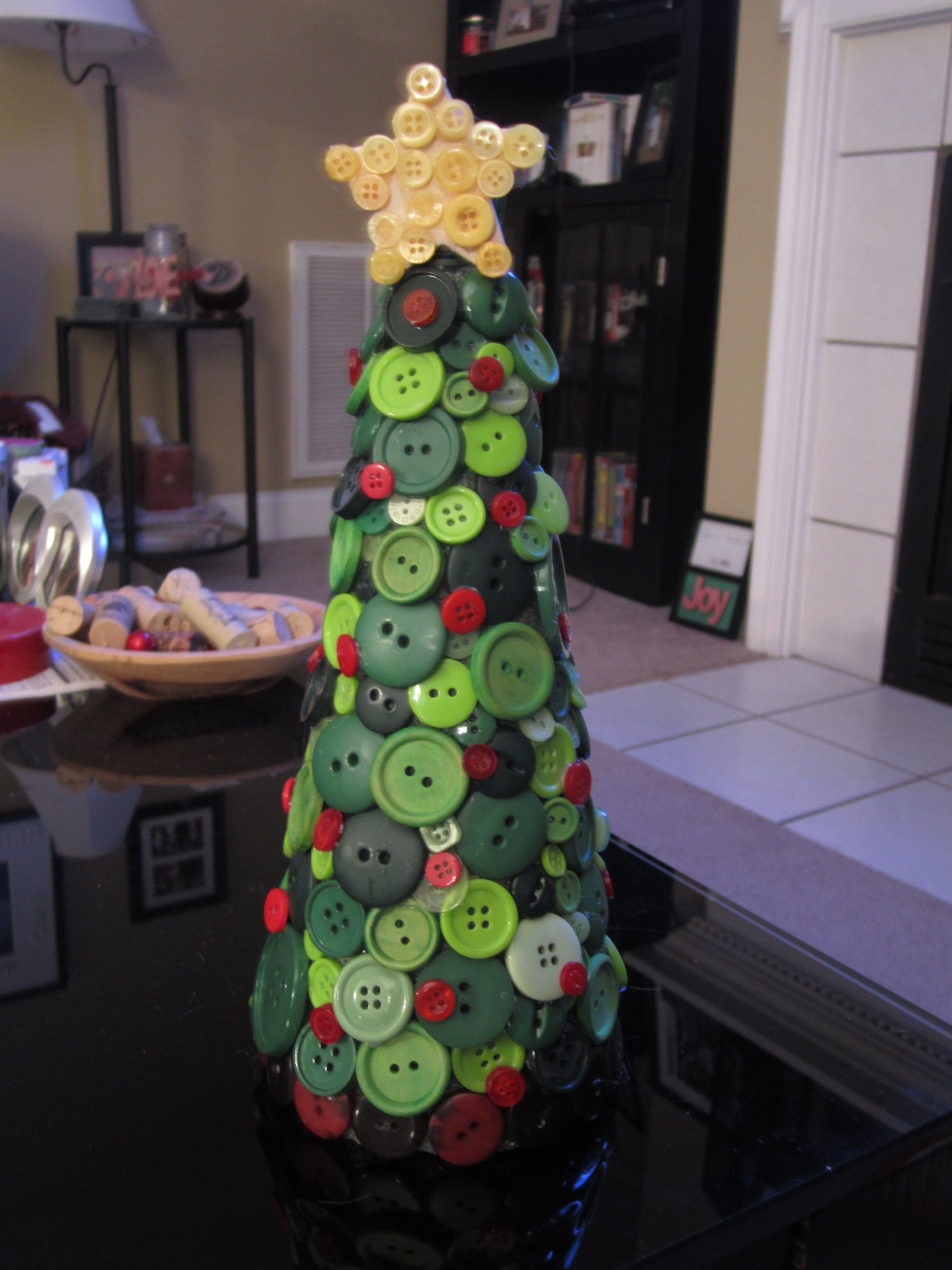 Button Christmas Treei Think I Need More Buttons So I