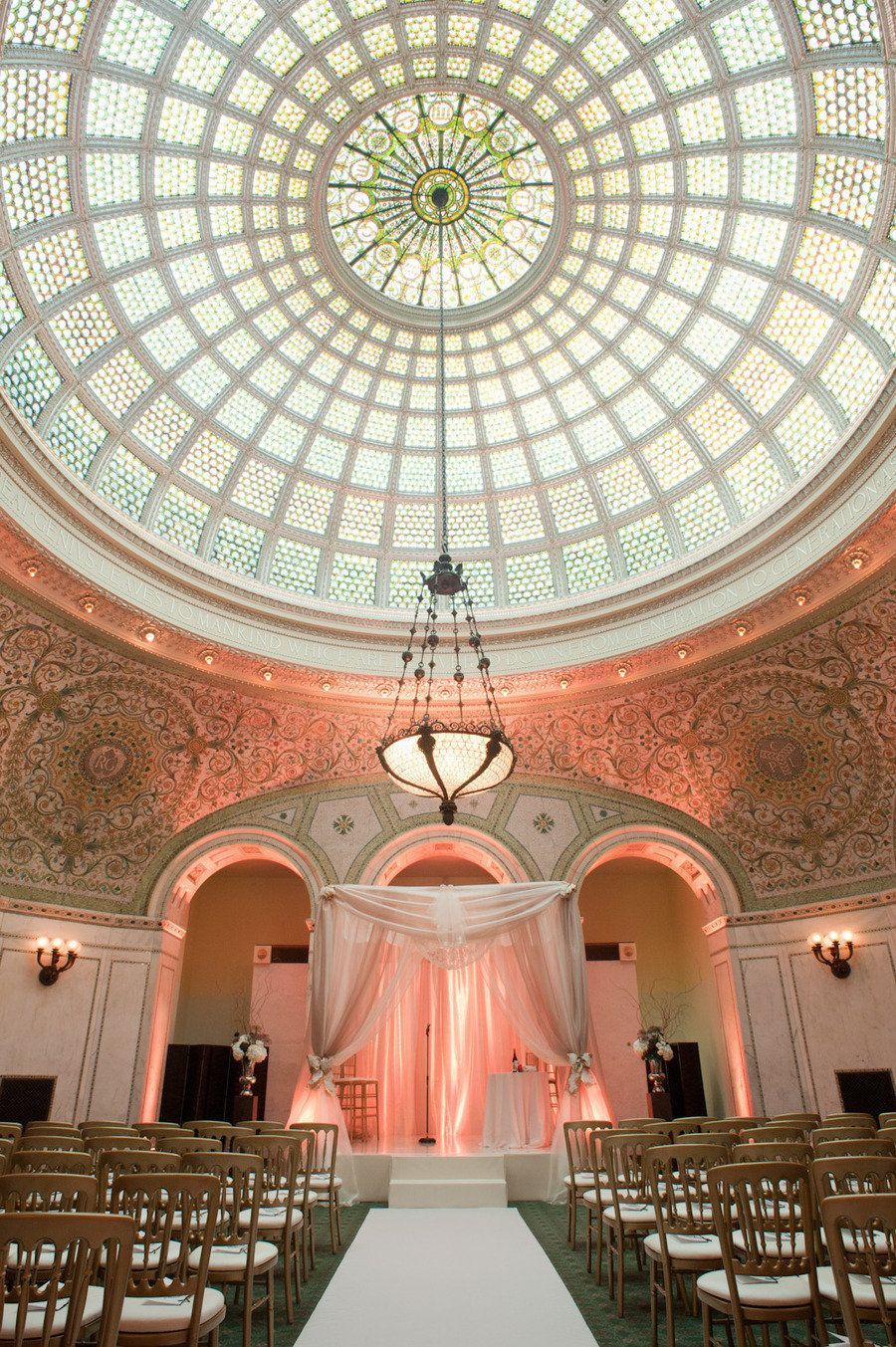 Chicago Cultural Center Wedding By Studio Starling
