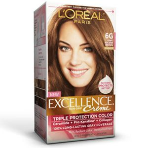 Excellence Creme 6G Light Golden Brown  L39Oreal Paris   Hair Style An
