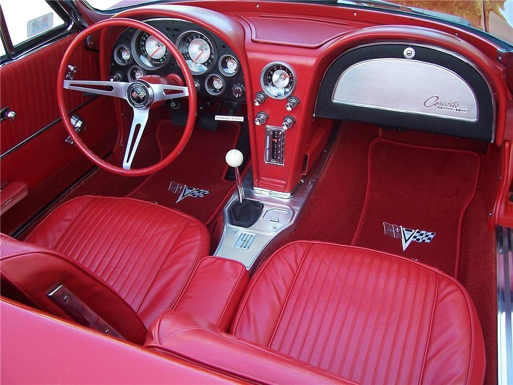 1963 Corvette Interior Chevrolet Corvette Corvette Convertible Chevrolet