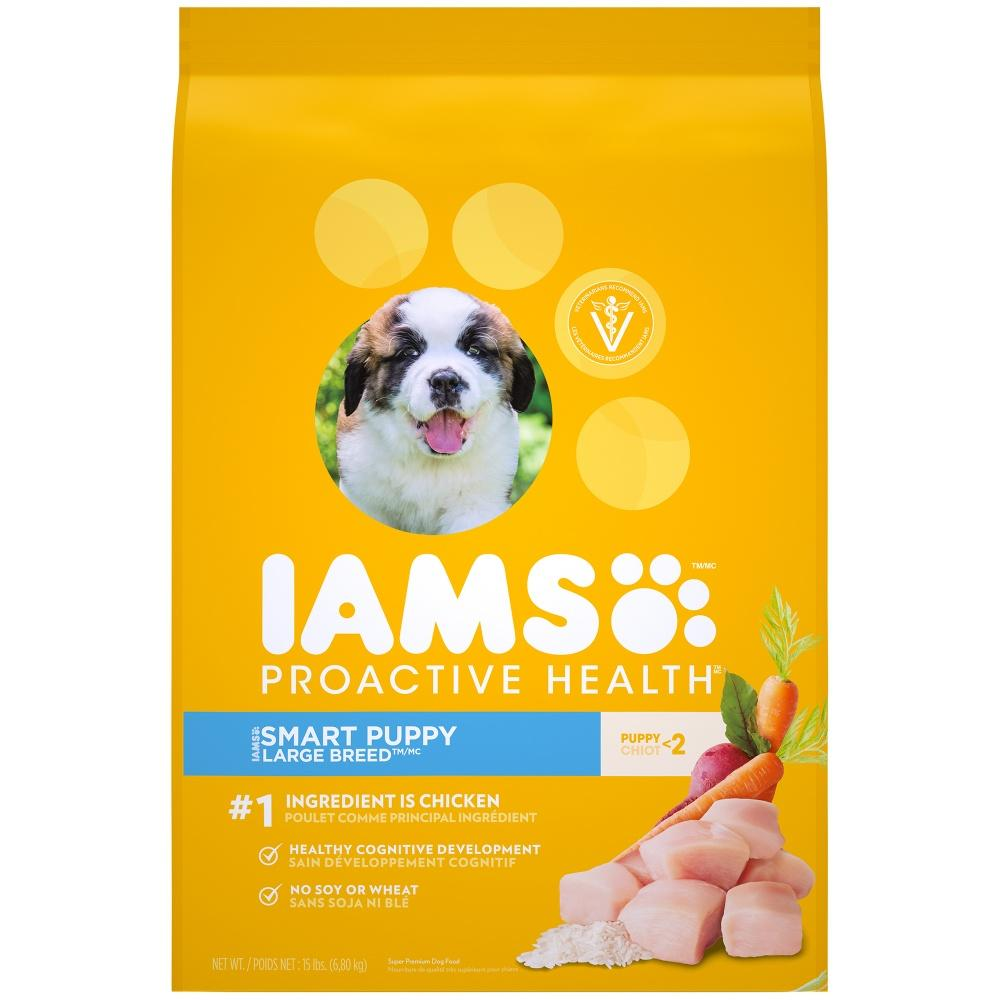 Iams Proactive Health Smart Puppy Large Breed Dry Dog Food Dry