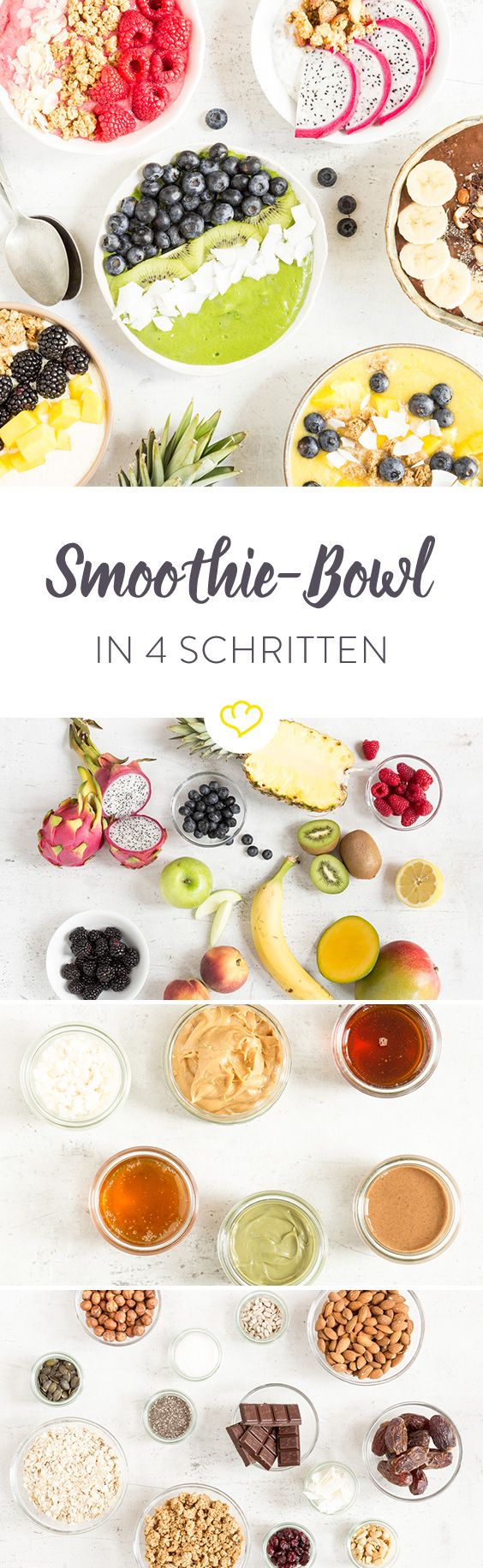 Photo of With 4 ingredients for the perfect smoothie bowl – even without a recipe!