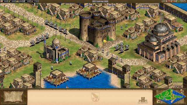 Free Download Pc Game Age Of Empires 2 Gold Edition Hd Freeware Age Of Empires Real Time Strategy Strategy Games
