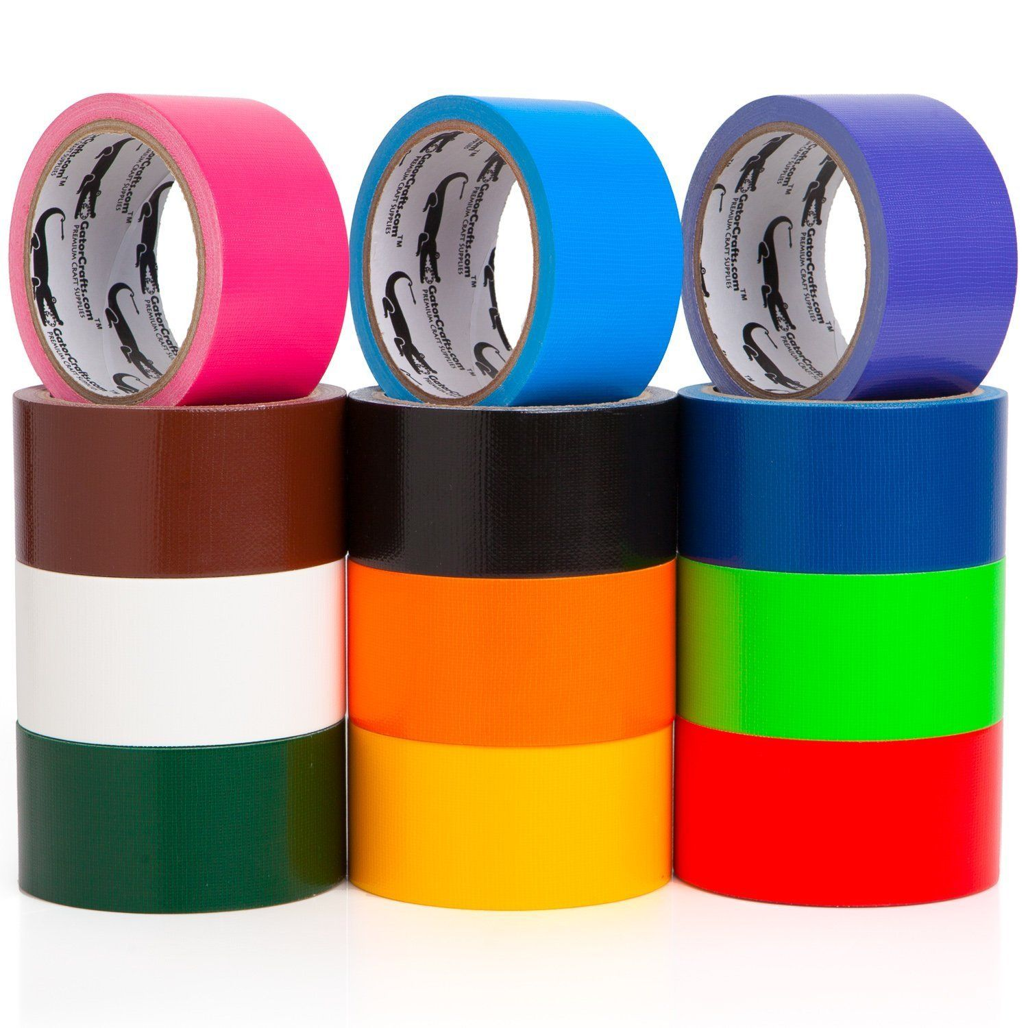 72734520eb7 Multi Colored Duct Tape - Variety Pack -12 Colors - 10 yards x 2 inch