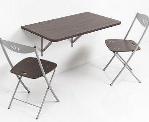 Tavolo Ripiegabile ~ Trasformabili consolle tavolo a muro pieghevole con ribalta