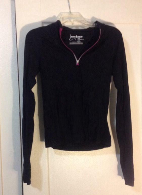Skirt Sports Womens Runner's Dream Black Gathered Shirts Tops XS | eBay