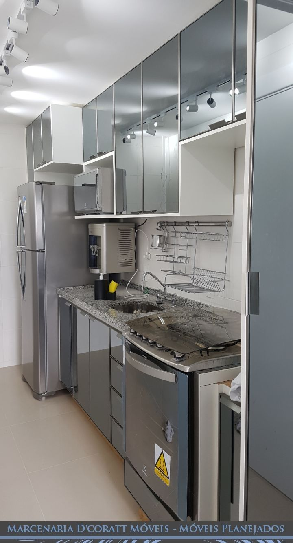 Cozinha Projetada Apartamento Pequeno Oppenau Info