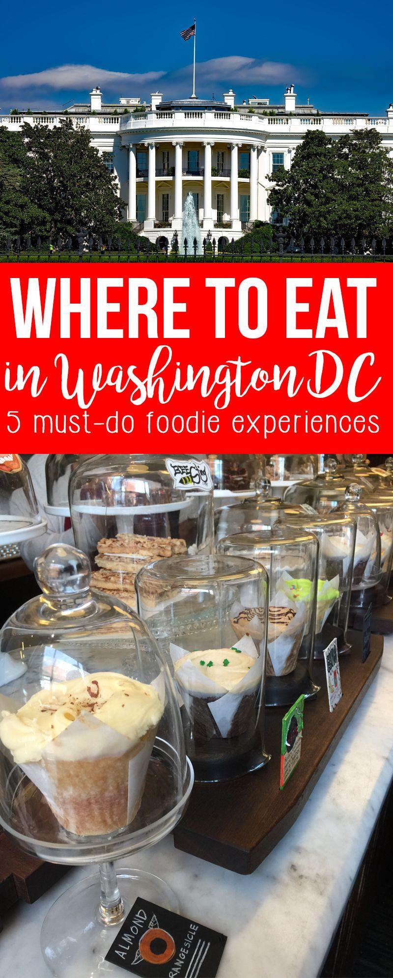 Best Restaurants in Washington DC - 5 Must-Do Foodie Experiences | Washington  dc travel, Washington dc vacation, Dc vacation