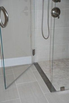Long Drain Would Be Easier To Clean Right Homedecor Design Interior Bathroom