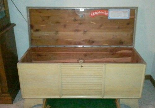Vintage 1953 Lane Cedar Hope Chest Original Lock Ebay