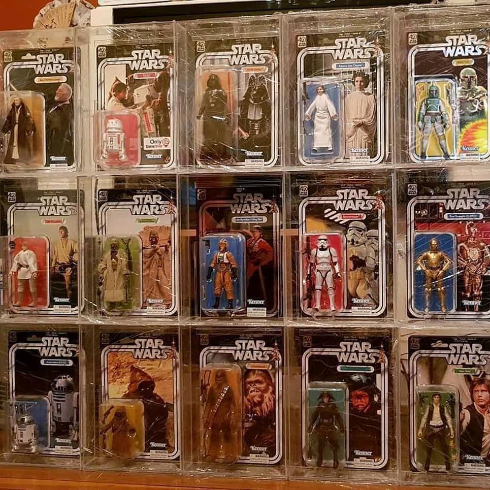 "Star Wars Carded Diecast /""C/"" Acrylic Display Case"