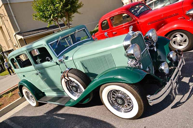 Classic Rides Car Show here in Downtown Historic