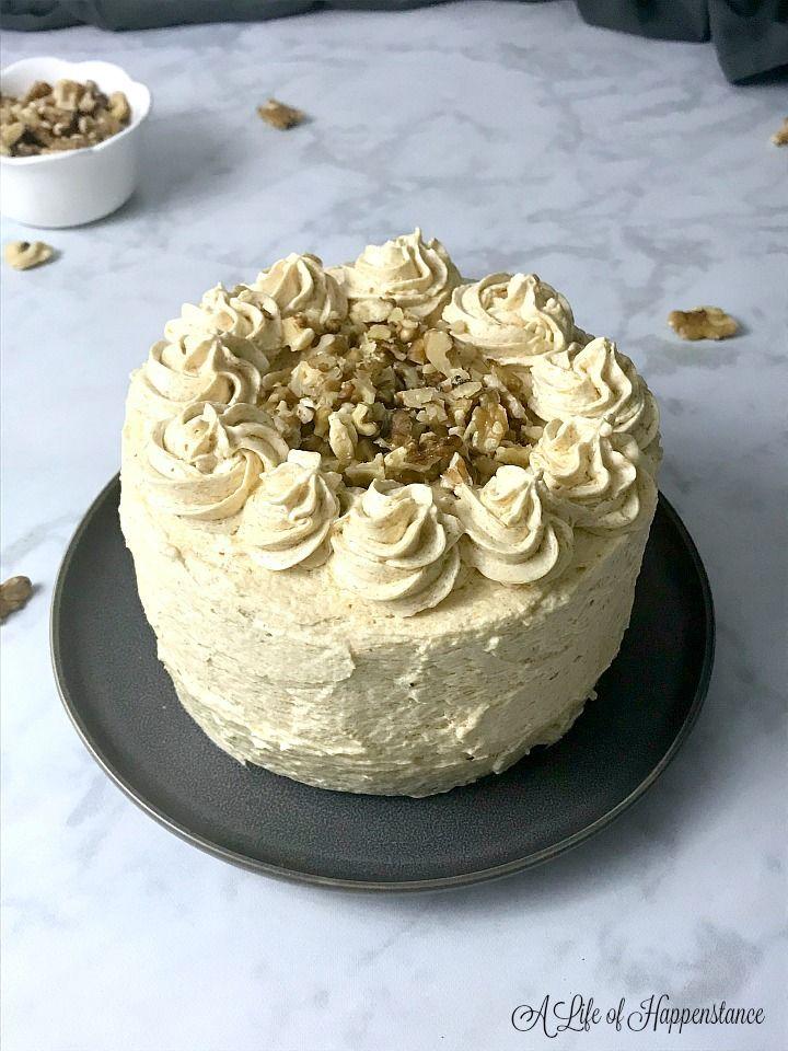Gluten free spice cake with pumpkin frosting recipe in 2020