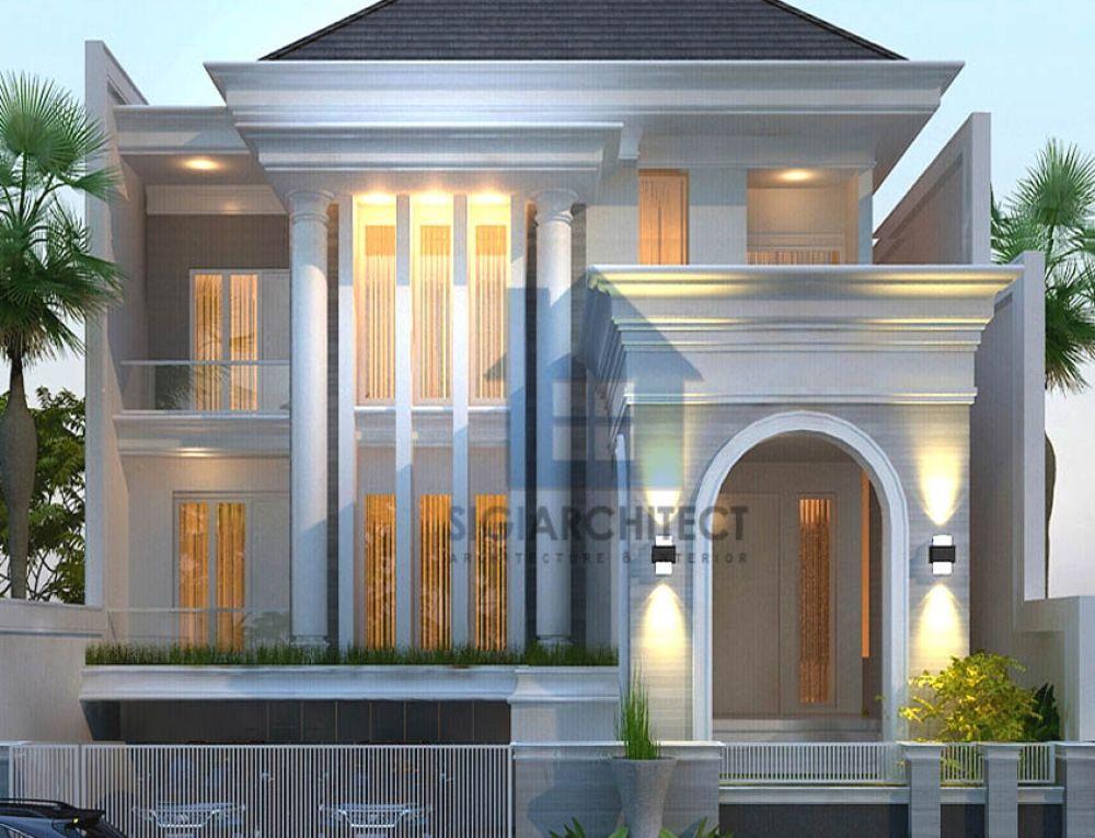Model Rumah 2 Lantai Tropis Minimalis, Jasa Arsitek Rumah Modern di 2020 | Home fashion, Desain ...