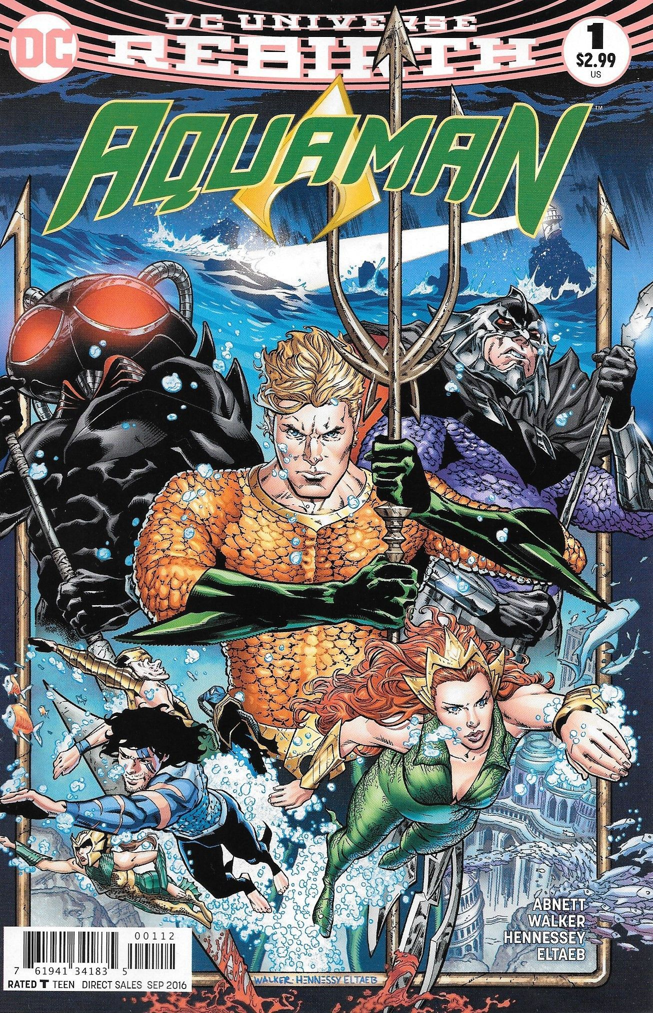 Buy Aquaman #1 2nd Ptg At Georgetownics For Only $ 199