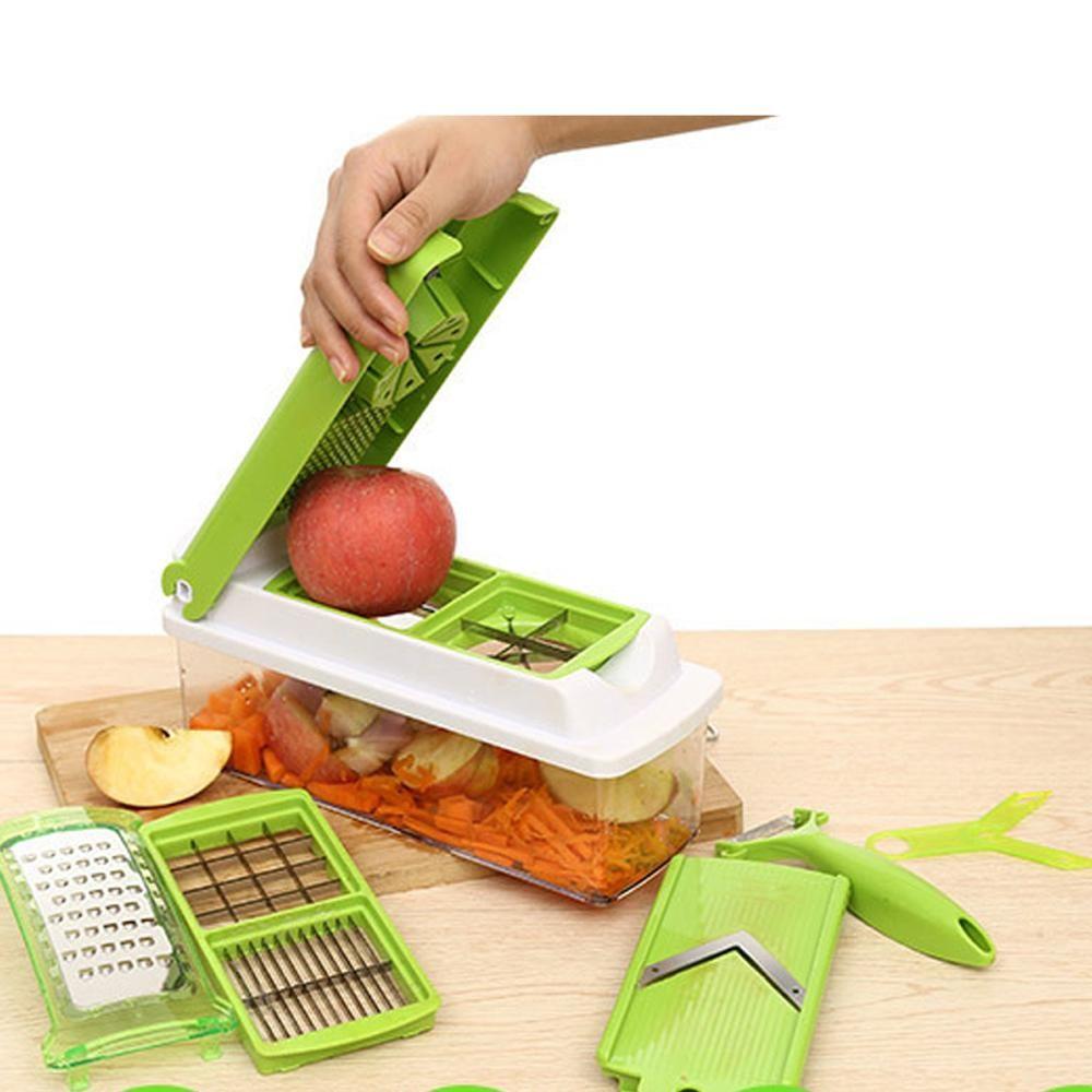 12 Pcs Master Multipurpose Fruit Vegetable Peeler Slicer Dicer ...