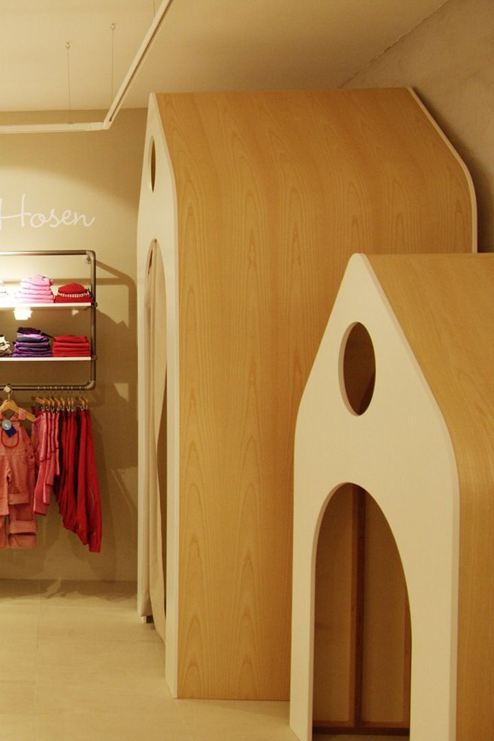 FINKID children clothing concept store by The Store Designers, Erfurt kids store design