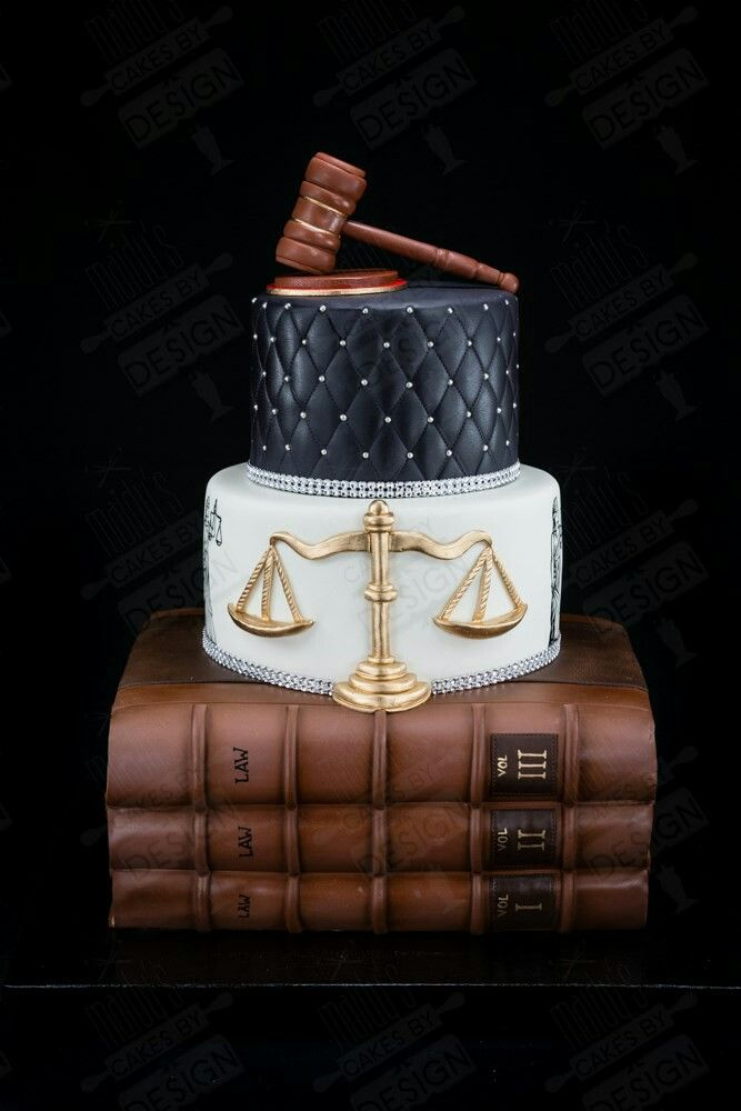 Lawyer Theme School Cake Lawyer Cake Book Cakes