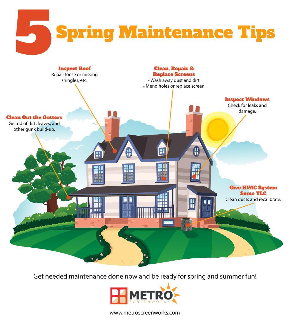 MustDo Spring Home Maintenance Tips in 2020 Home