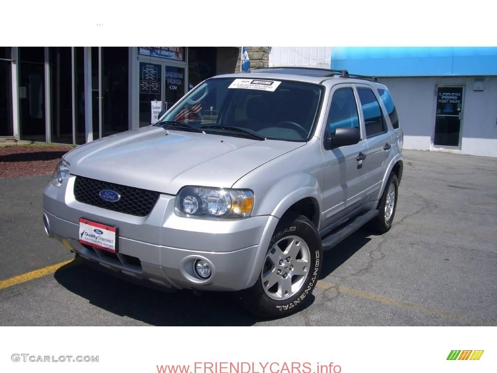 Awesome Ford Escape 2008 Silver Car Images Hd 2007 Silver Metallic Ford Escape Xlt V6 4wd 10718214 Gtcarlot