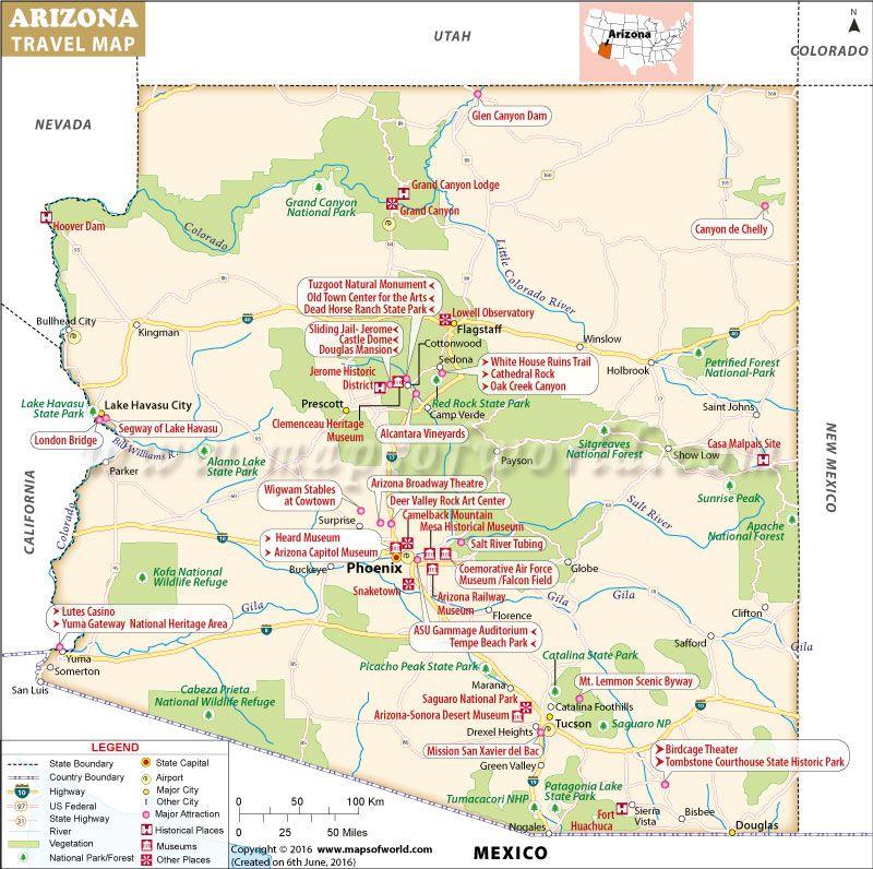 Places to Visit in Arizona | Sedona Arizona | Arizona road trip ...