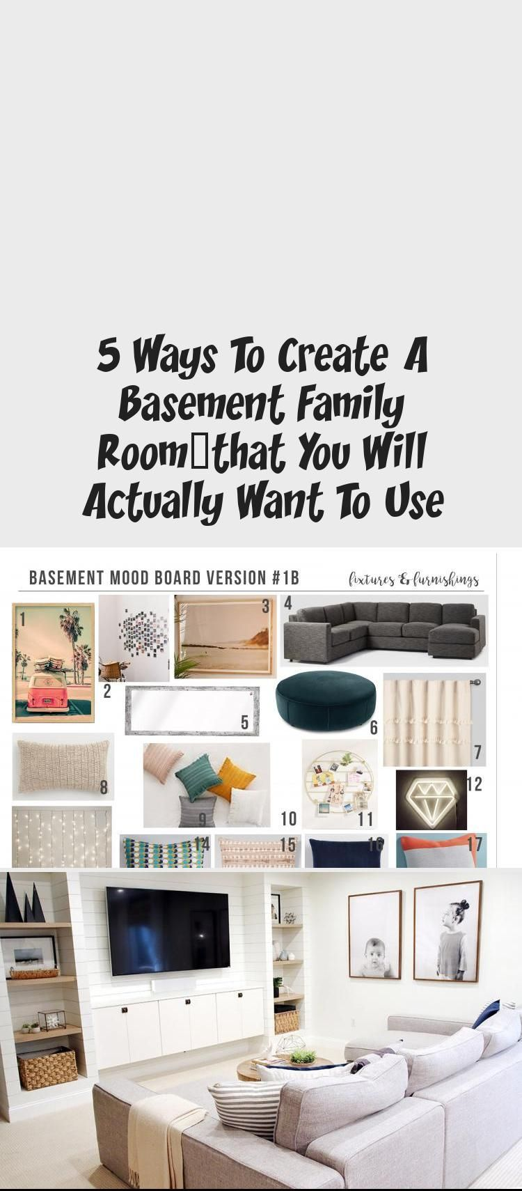 Order your room-inside-a-box, see inside at Postbox Designs, Interior E-Design: 5 Ways to Create a Basement Family Room You Will WANT to Use, Kid Hang-Out Space, Basement Family Room Ideas via Online Interior Design #Vintageinteriordesign #interiordesignHall #interiordesignEclectic #interiordesignTrends #Traditionalinteriordesign