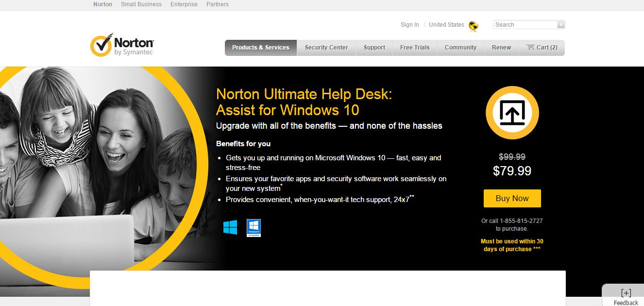 how to get norton off computer