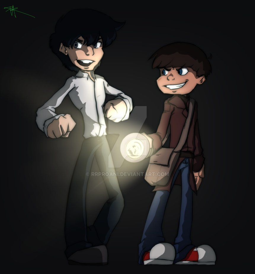 Young Johnny Ghost and Toast (Story idea) by RRproAni.deviantart.com on @DeviantArt